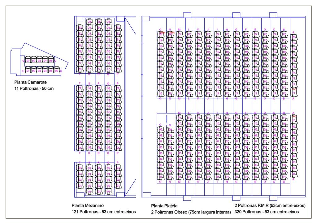 Mapa de Cadeiras